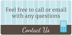 Feel free to call or email with any questions | Contact Us